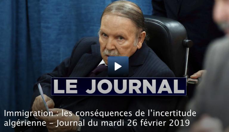 Immigration : les conséquences de l'incertitude algérienne [Vidéo]