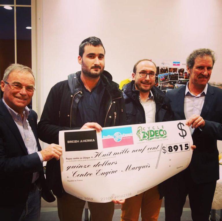 Une donation inattendue des USA pour la recherche contre le cancer en Bretagne