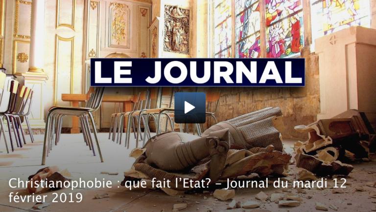 Christianophobie en France. Que fait l'Etat ? [Vidéo]