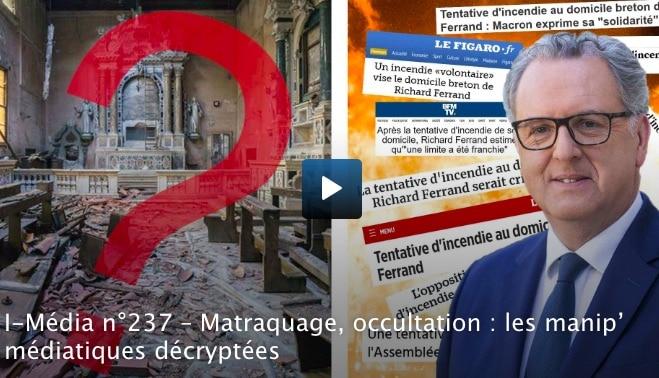 Matraquage, occultation : les manip' médiatiques décryptées [Vidéo]