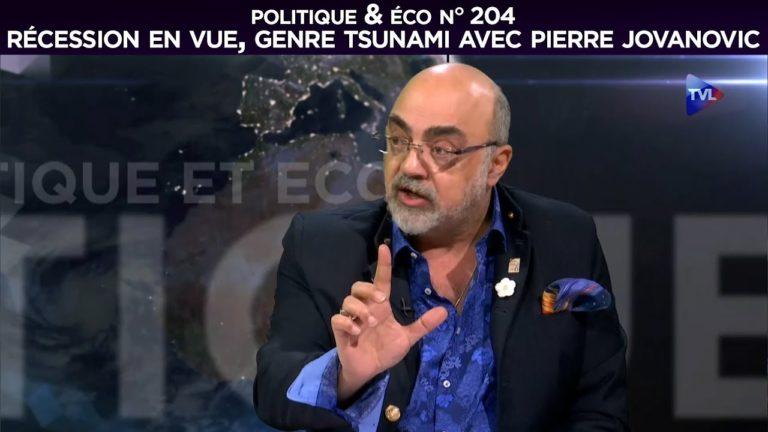 Récession en vue, genre tsunami avec Pierre Jovanovic [Vidéo]