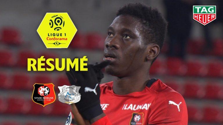 Le Stade Rennais défait Amiens (1-0) [Vidéo]