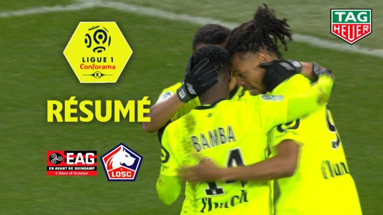 EA Guingamp – Lille (0-2) : ça sent le sapin ! [Vidéo]