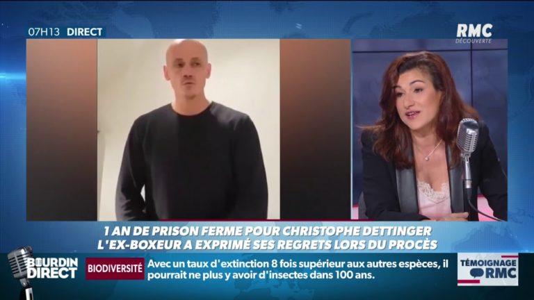 Condamnation à 1 an de prison ferme. L'avocate de Christophe Dettinger juge sa peine «sévère» mais «équilibrée» [Vidéo]