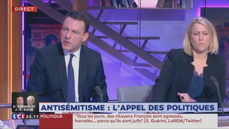 Le Rassemblement National et La France Insoumise dénoncent l'instrumentalisation de la marche contre l'antisémitisme par le PS [Vidéo]