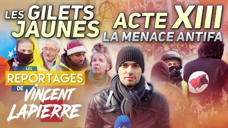 Gilets jaunes Acte XII : la menace antifa [Vidéo]