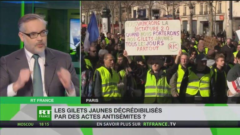 Guillaume Bigot accuse les médias d'avoir inventé un « Antisémitisme Gilet Jaune » [Vidéo]