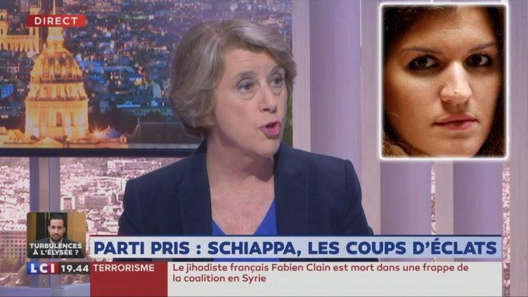 Arlette Chabot qualifie de «folie» les propos de Schiappa comparant la Manif Pour Tous aux terroristes islamistes [Vidéo]