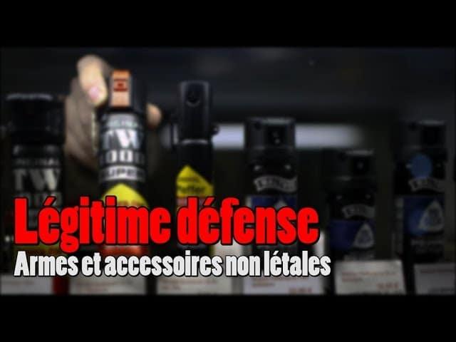 Les armes de défense non létales [Vidéo]