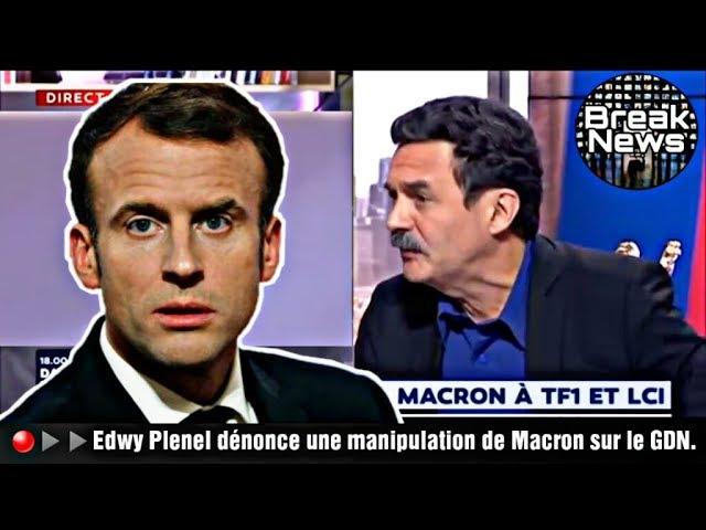 Edwy Plenel (Médiapart) tacle Emmanuel Macron sur le grand débat national [Vidéo]