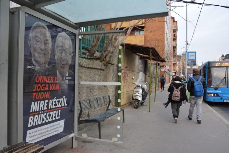 Campagne anti Soros et Juncker. La Hongrie se lance dans les élections européennes