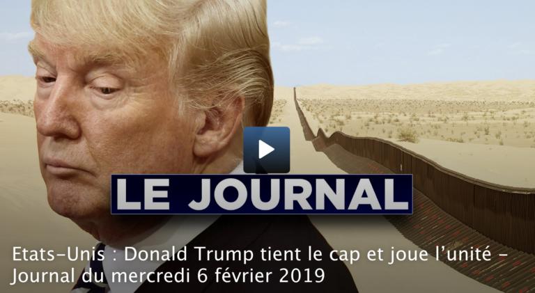 Etats-Unis : Donald Trump tient le cap et joue l'unité [Vidéo]
