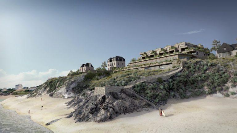 La ville de Saint-Malo dévoile une vidéo sur le projet contesté de complexe hôtel-thalasso des Nielles