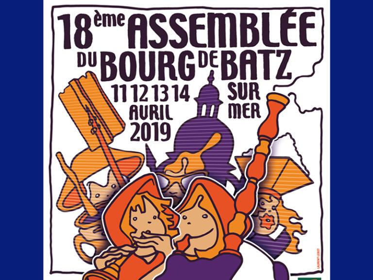 Batz-sur-Mer (44). La 18e Assemblée du Bourg de Batz du 11 au 14 avril