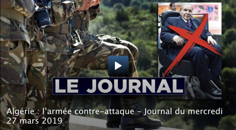 Algérie : l'armée contre-attaque [Vidéo]