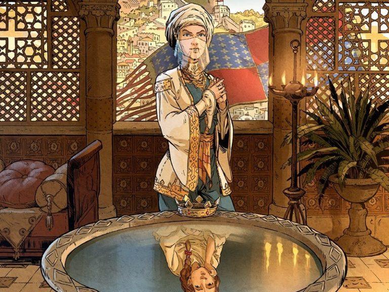 Les reines de sang : Constance d'Antioche (bande dessinée)