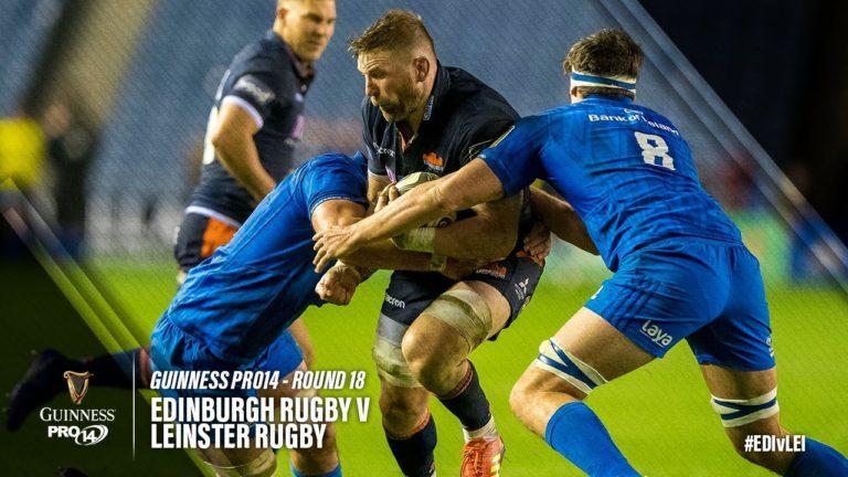 Rugby. Édimbourg bat le Leinster, le Munster a eu chaud : le résumé vidéo de la 18ème journée