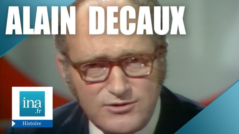 Alain Decaux raconte : La fin de Trotsky   Archive INA [Vidéo]
