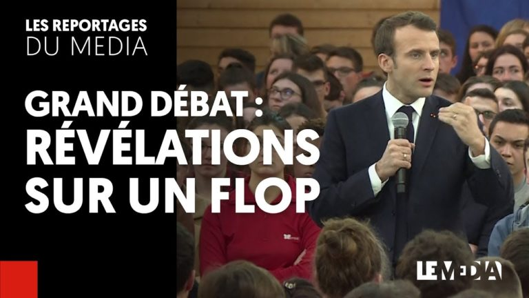 Grand débat national : Révélations sur un scandale et sur un flop [Vidéo]