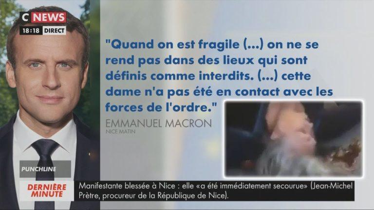 Macron se fait critiquer pour son absence d'empathie envers une Gilet Jaune blessée [Vidéo]