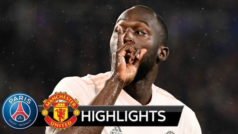PSG-Manchester United (1-3) : la vidéo de la débâcle