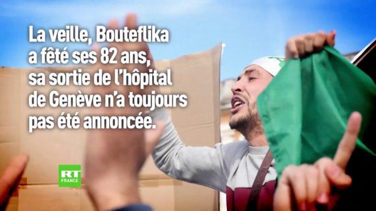 Algérie : retour en images sur deux semaines de manifestations [Vidéo]