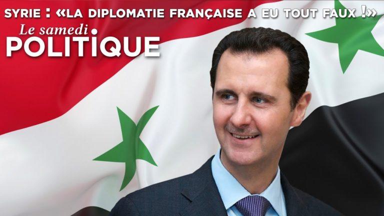 Syrie : « La diplomatie française a eu tout faux ! » [Vidéo]