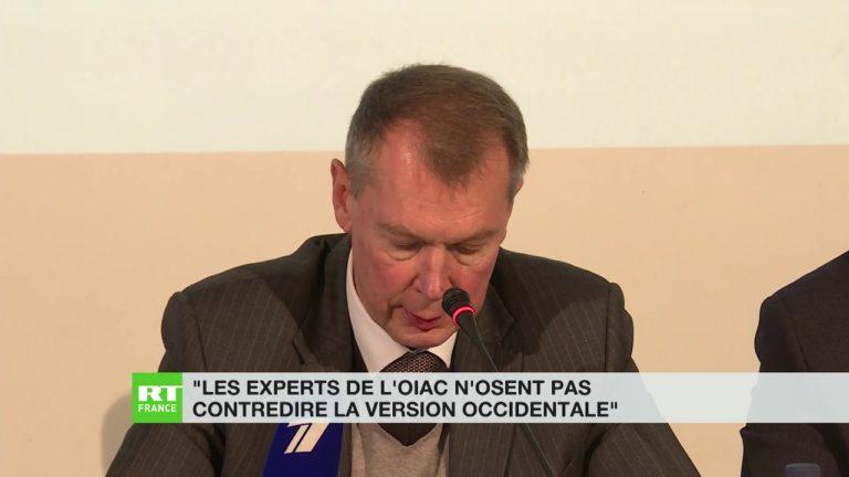 Le représentant russe auprès de l'OIAC conteste son rapport sur l'attaque chimique présumée à Douma [Vidéo]