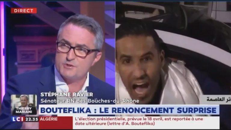 Stéphane Ravier : « Tous ces Algériens qui manifestaient en France vont pouvoir rentrer au pays » [Vidéo]
