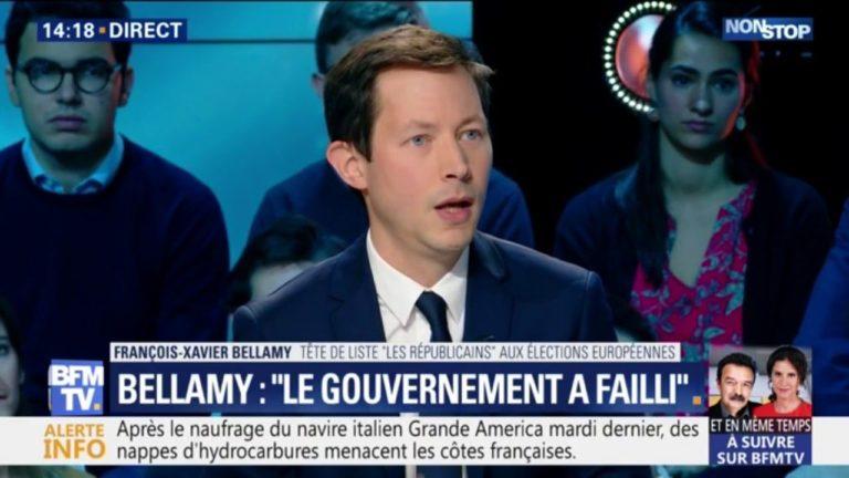 François-Xavier Bellamy (LR) sur les violences à Paris : « Le gouvernement a failli »