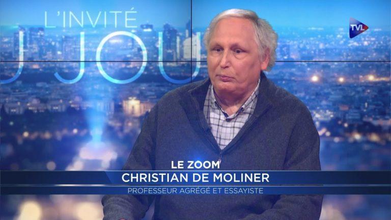 La guerre civile en France ? C'est le thème d'un roman de Christian de Moliner [Interview]