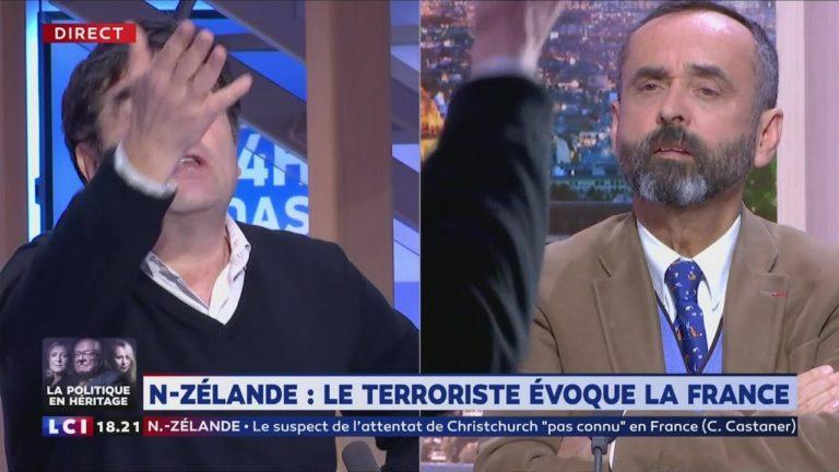 Robert Ménard à Romain Goupil : « La saloperie c'est de faire le raccourci ChristChurch-Béziers-Zemmour » [Vidéo]