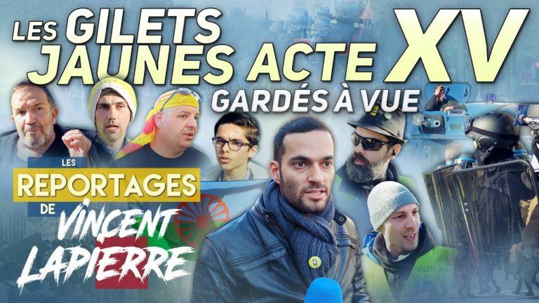 Le journaliste Vincent Lapierre en garde à vue 24h… il portait un spray de défense [Vidéo]