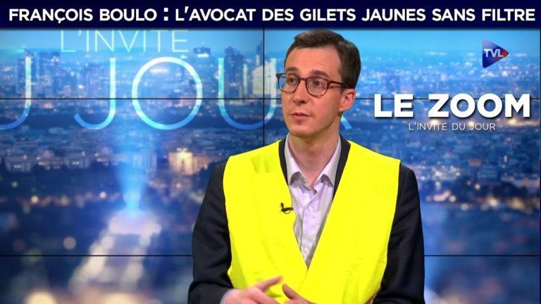 François Boulo : l'avocat des Gilets Jaunes sans filtre sur TVL [Vidéo]
