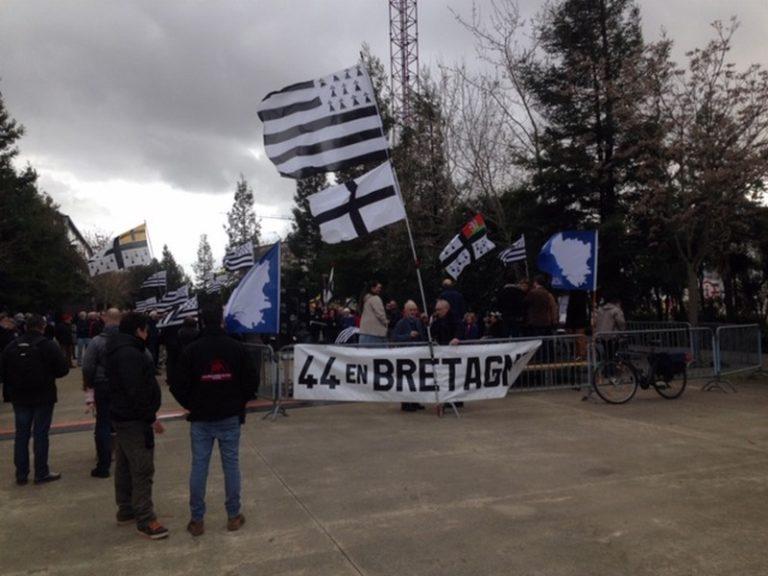 Nantes. Les militants de Bretagne réunie entendent continuer le combat