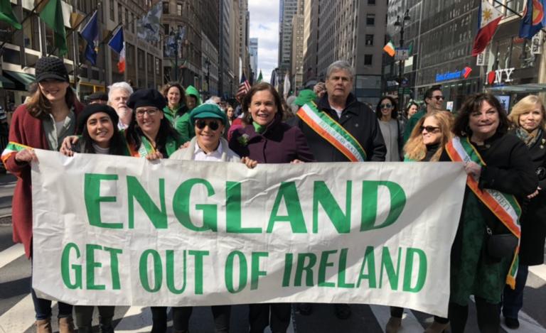 « England get out of Ireland ». La leader du Sinn Féin suscite des critiques après son défilé de la Saint-Patrick à New York