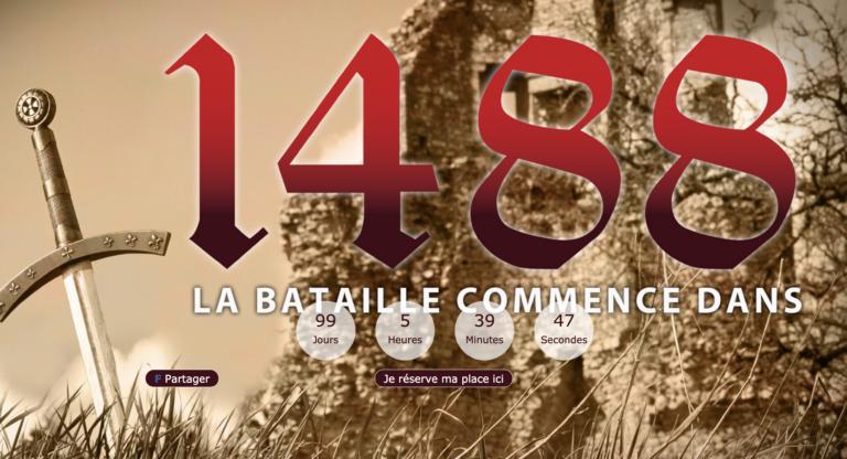 Fougères. En Juillet 2019, un spectacle son et lumière sur la bataille de St-Aubin du Cormier (1488)