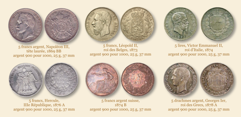 Un précurseur oublié de l'écu et de l'euro : l'Union Latine.