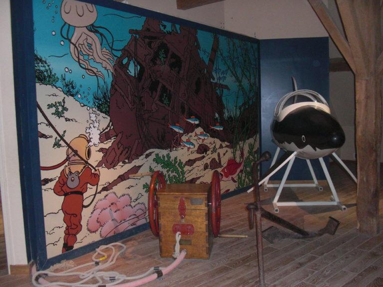 Avec Tintin, à la découverte du château de Cheverny