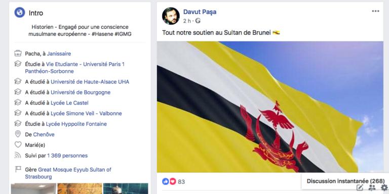 Un responsable de la mosquée Millî Görüs de Strasbourg a-t-il soutenu le sultanat de Brunei et la lapidation des homosexuels ?