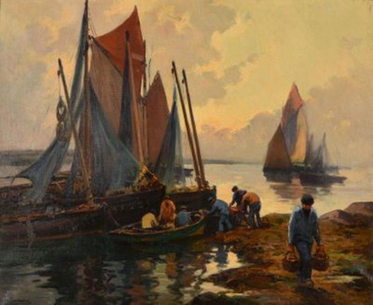 Vente exceptionnelle de peintures des écoles bretonnes à Brest