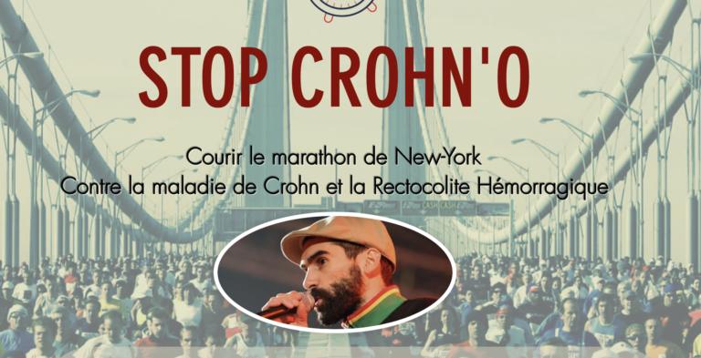 STOP CROHN'O. Un projet sportif pour soutenir les malades atteints de RCH et de Crohn