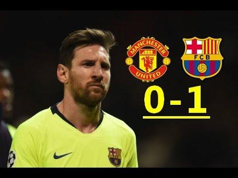 Football. Le FC Barcelone s'impose en patron à Manchester United (0-1) [Vidéo]
