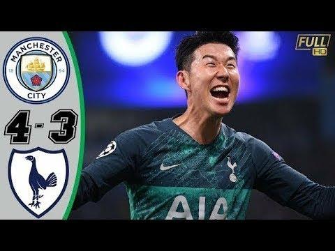 Ligue des Champions. Tottenham se qualifie face à Manchester City après le match de l'année….[Vidéo]