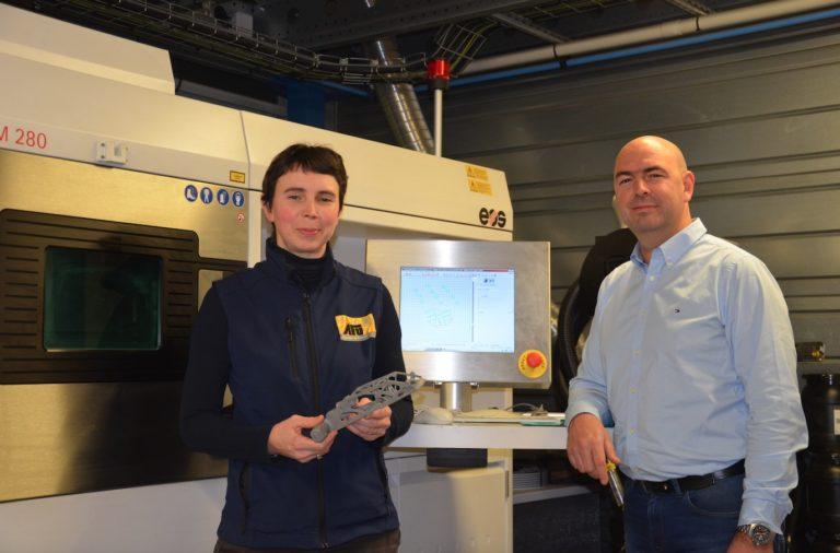 Saint-Malo. L'entreprise AFU fait l'acquisition d'une nouvelle imprimante 3D métal.