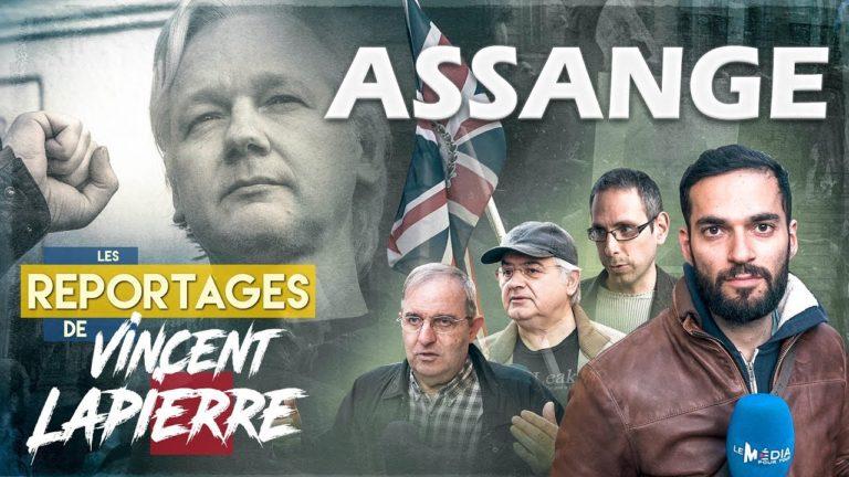 Libérez Assange ! Les Reportages de Vincent Lapierre [Vidéo]