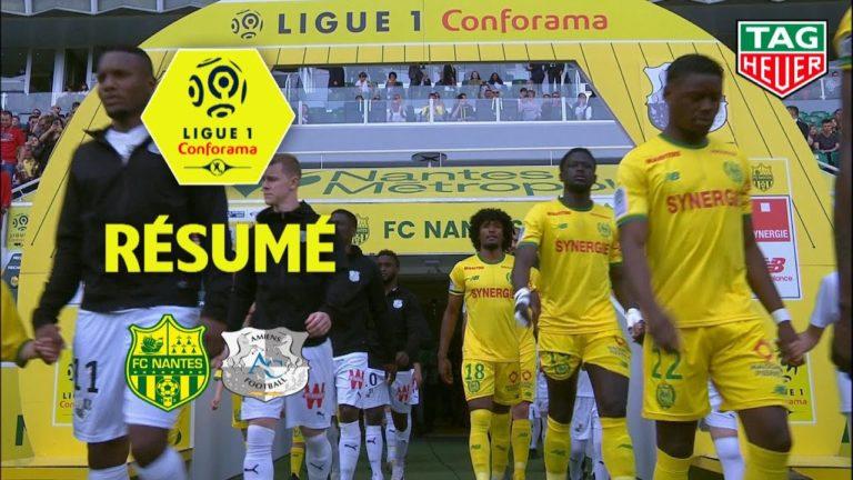 Le FC Nantes bat Amiens, 3-2, et enchaine une troisième victoire de suite [Vidéo]