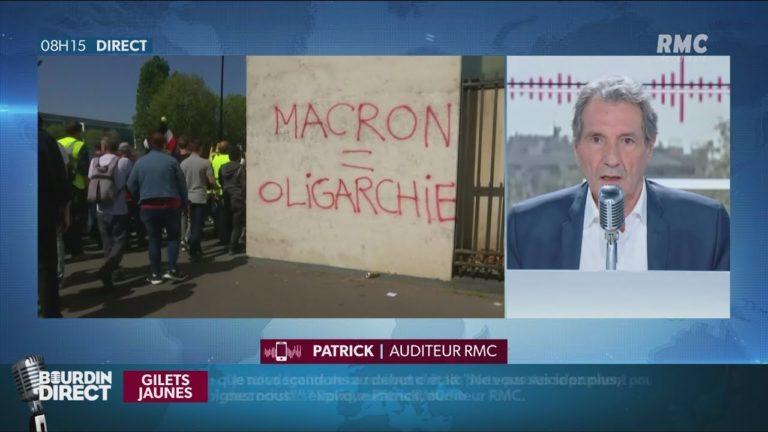 Un auditeur Gilet Jaune accuse Bourdin d'être « à la solde du gouvernement » [Vidéo]