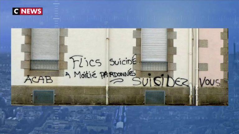 Landivisiau (Finistère) : des tags sur une gendarmerie appellent au suicide des forces de l'ordre [Vidéo]