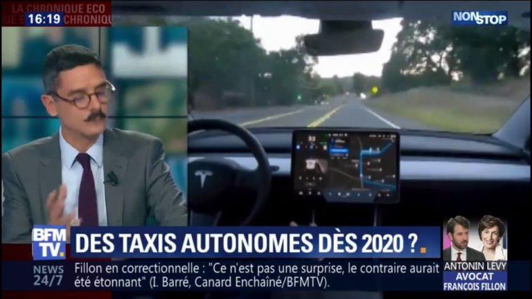 Elon Musk a annoncé les premiers taxis autonomes Tesla pour 2020 [Vidéo]
